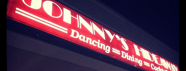 Johnny's Hideaway is one of Bars I've been to.