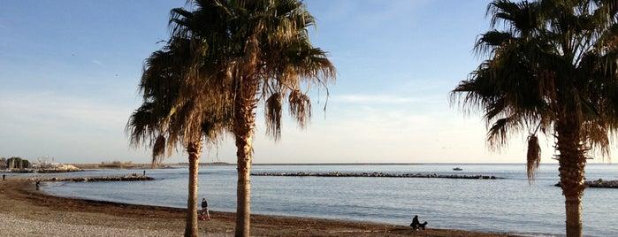Plage de Saint-Laurent-du-Var is one of Beach.
