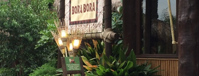 Bora Bora is one of PortAventura.