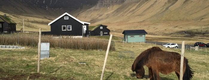 Gásadalur is one of Faroe Islands.