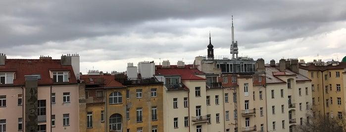 Post Hostel Prague is one of Posti che sono piaciuti a Luis.