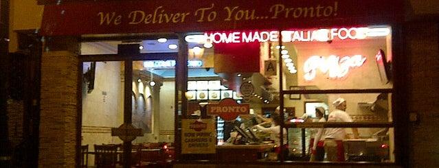 Pronto Pizza is one of Lugares guardados de dan.