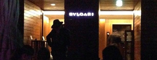 BVLGARI La Terrazza Lounge is one of Cool Tokyo Bars.