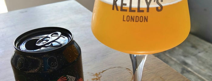 Mother Kelly's Bottle Shop is one of London's Best for Beer.