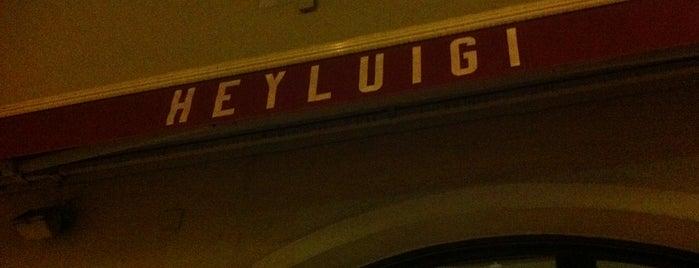 Hey Luigi! is one of Essen gehen nach der Arbeit (beste Restaurants).