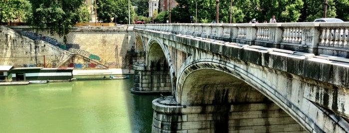 Ponte Regina Margherita is one of Rome / Roma.