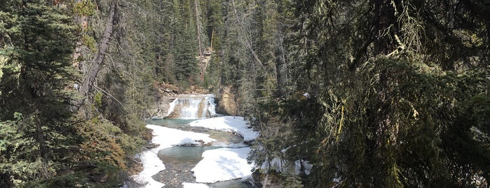 Upper Falls of Johnston Canyon is one of Canada Favorites.