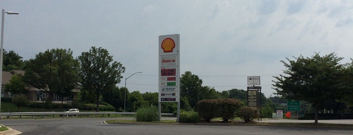 Shell is one of Leandroさんのお気に入りスポット.