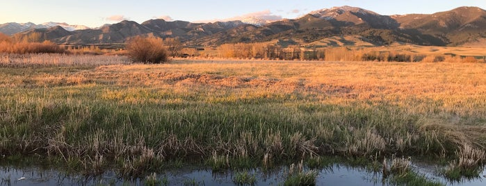 Cherry River Fishing Access is one of Bozeman 2020.