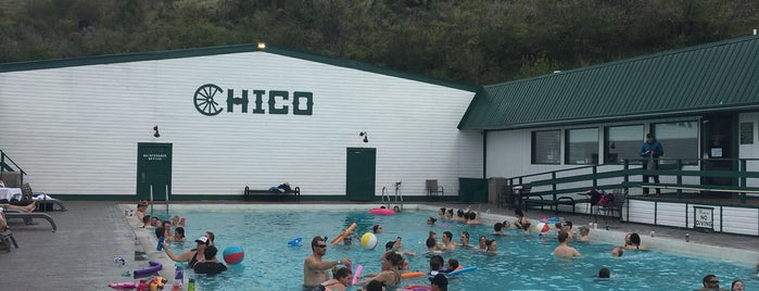 Chico Hot Springs Resort and Day Spa is one of Montana.