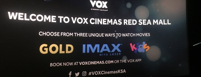 VOX Cinemas is one of Tempat yang Disukai Abdullah.