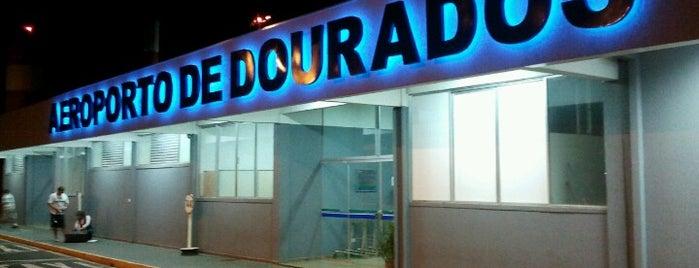Aeroporto de Dourados (DOU) is one of Lugares favoritos de Aline.
