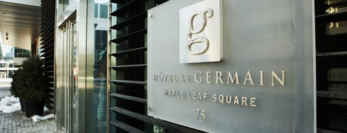 Le Germain Hotel is one of Canada.