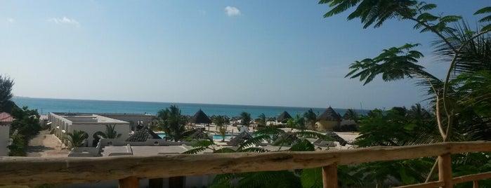 Gold Zanzibar Beach House & Spa is one of ZNZBR.