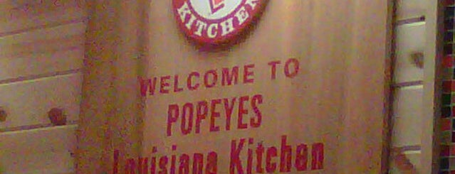 Popeyes Louisiana Kitchen is one of Tiffiany's Liked Places.
