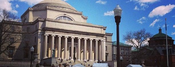 Columbia University is one of Manhattan Favorites.