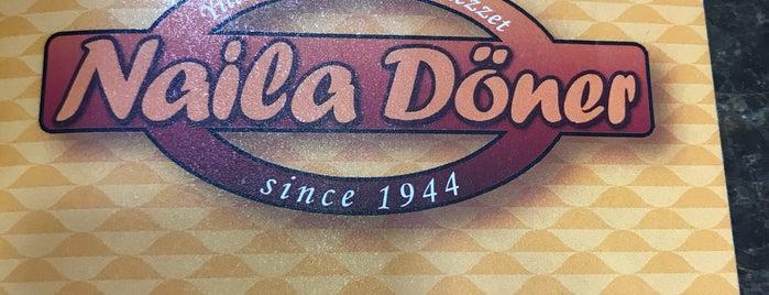 Naila Döner Restaurant is one of Lieux qui ont plu à M.Y.
