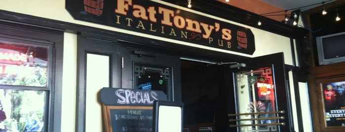 Fat Tony's Italian Pub is one of Casual Restaurants.