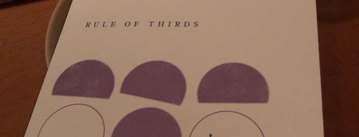 Rule Of Thirds is one of Brooklyn restaurants.