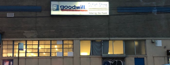 Goodwill Outlet Store is one of Thrift NYC.