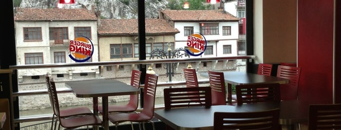 Burger King is one of Amasya Yeme İçme.