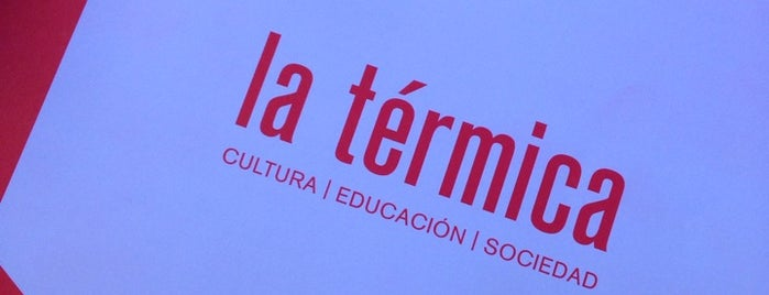 Centro Cultural 'La Térmica' is one of Lieux qui ont plu à Vicente.