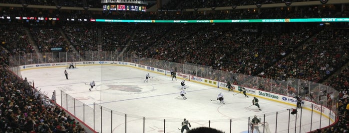 Xcel Energy Center is one of NHL (National Hockey League) Arenas.