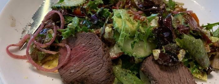 Zane + Wylie's Seattle Steakhouse is one of Tempat yang Disukai Mark.