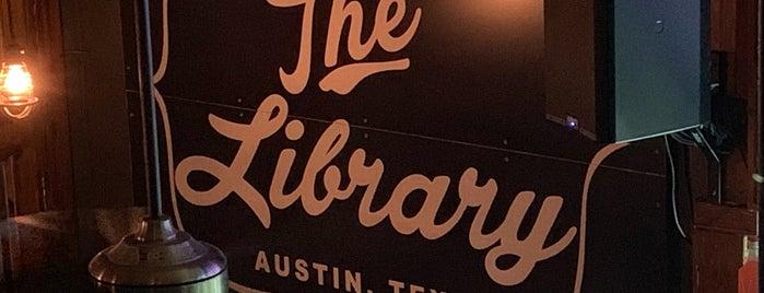 Library Bar is one of สถานที่ที่ Mark ถูกใจ.