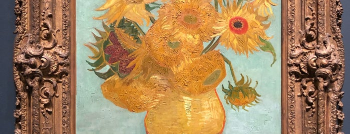 Sunflowers by Vincent Willem van Gogh is one of Philadelphia, PA.