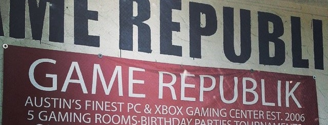 Game Republik is one of Austin.