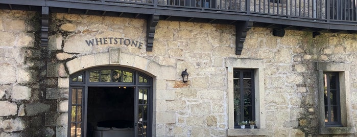 Whetstone Wine Cellars is one of Napa Valley.