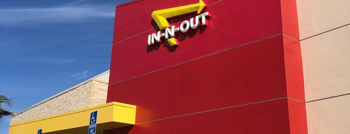 In-N-Out Burger is one of palm springs.
