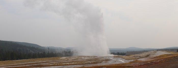 Old Faithfull Yellowstone is one of Jackson Hole.