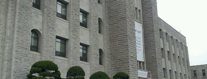 Korea University Library is one of life of learning.