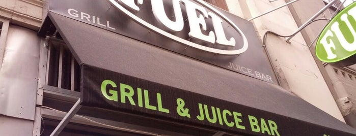 Fuel Grill and Juice Bar is one of MileagePlus Dining.
