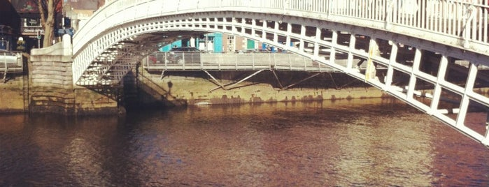 The Ha'penny (Liffey) Bridge is one of Never been.