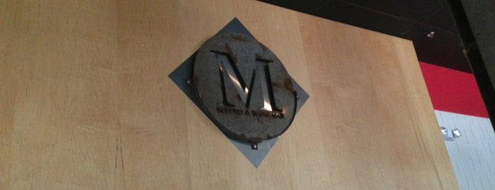 M Bistro & Wine Bar is one of Favorite affordable date spots.