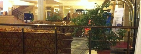 Astana International Hotel is one of Posti che sono piaciuti a Vika.