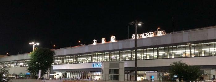 JR Ōmiya Station is one of Masahiro 님이 좋아한 장소.