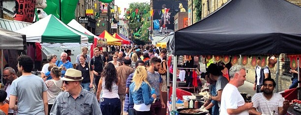 Whitecross Street Market is one of London.