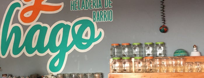 Yolohago Heladería de Barrio is one of 🍦.