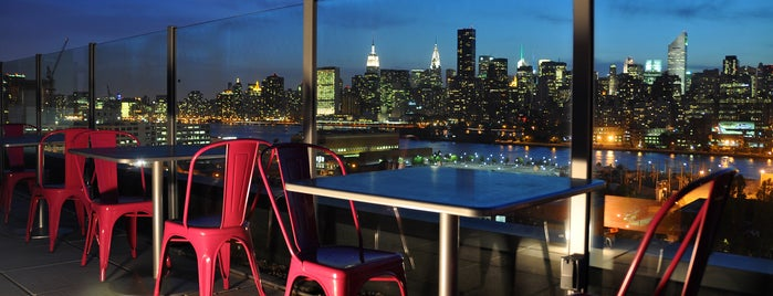 Z NYC Hotel is one of The Best Hotel Rooftops in NYC.