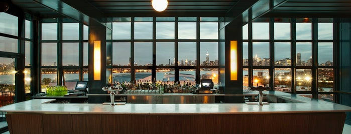 The Ides at Wythe Hotel is one of The Best Hotel Rooftops in NYC.