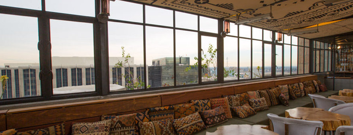 Ace Hotel Downtown Los Angeles is one of The Best Hotel Bars in Los Angeles.