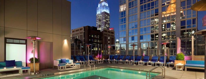 Gansevoort Park Rooftop is one of The Best Hotel Rooftops in NYC.