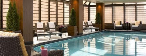 The Peninsula New York is one of The Coolest Hotel Pools in NYC.
