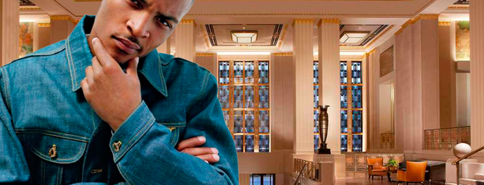 Waldorf Astoria New York is one of Hip Hop Hospitality: The Many Hotels of Rap Lyrics.