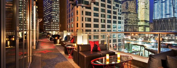W New York - Downtown is one of The Best Hotel Rooftops in NYC.