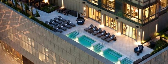 Trump SoHo New York is one of The Best Hotel Rooftops in NYC.